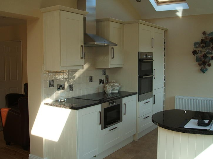 kitchen design kilkenny granite counter tops complement the simple design of this 637
