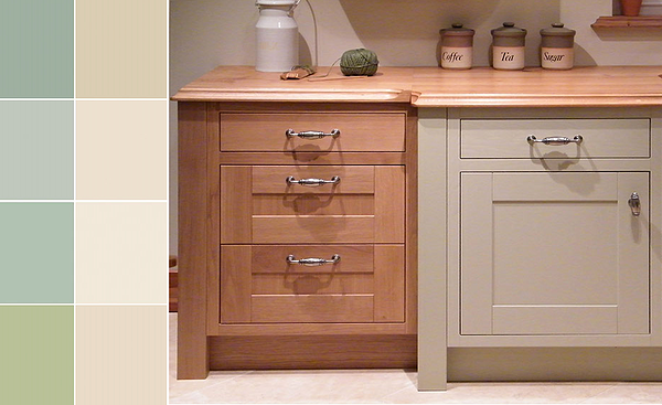 Bespoke Kitchen Doors, -  Handmade in Ireland with natural & painted durable hardwearing finishes from Kitchen Makeover, Laois